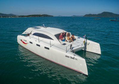 5 phuket day trips catamaran