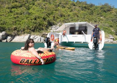 Inflatable boat - Motorboat