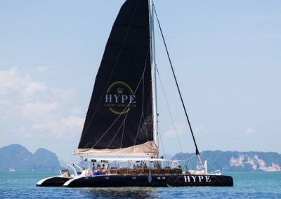 Sail - Hype Luxury Boat Club - Catamaran Thailand