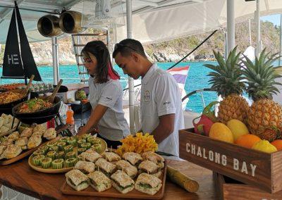 Ko He - Ko Racha Yai - Catamaran Thailand