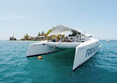Yacht - Catamaran