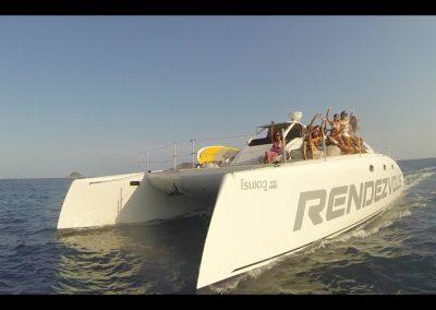 Catamaran - Motorboat