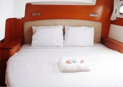 Yacht - Catamaran Thailand - Bed frame