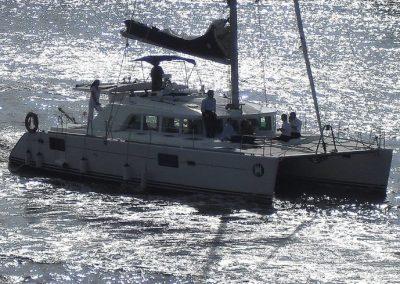 Yacht - Catamaran Thailand - Patrol boat