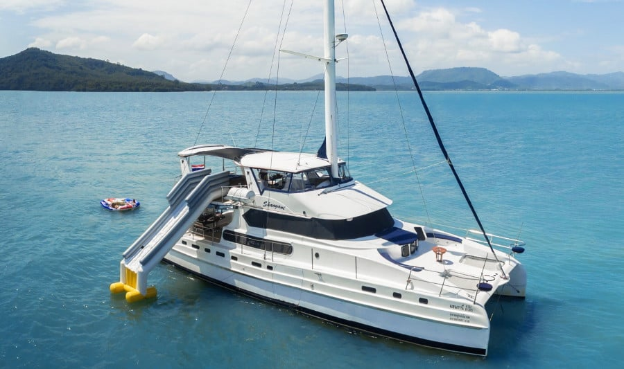 70 Foot Luxury Catamaran