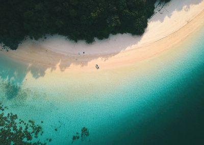 Water resources - Catamaran Thailand - Reef