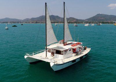 thailand charter catamaran phuket