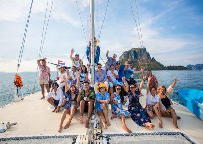 Water transportation - Sailing